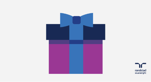 a holiday gift from Randstad Sourceright