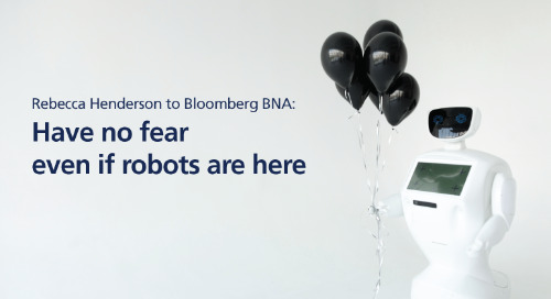 Bloomberg BNA: have no fear even if robots are here