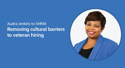 SHRM: removing cultural barriers to veteran hiring