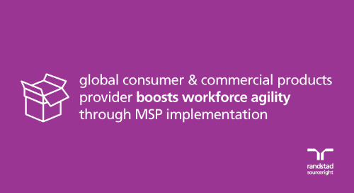 MSP case study: global consumer & commercial products provider boosts agility