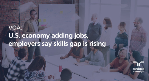 VOA: U.S. economy adding jobs, employers say skills gap is rising