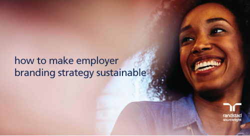 how to make employer branding strategy sustainable