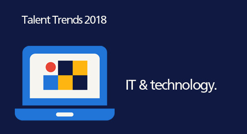 infographic: 2018 Talent Trends for IT & technology.