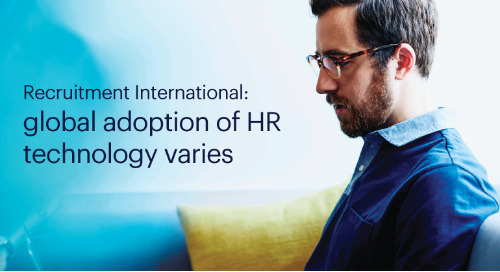 Recruitment International: global adoption of HR technology varies.