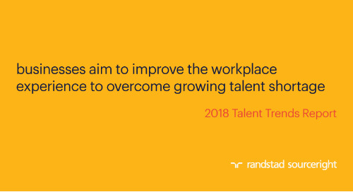 businesses aim to improve the workplace experience to overcome growing talent shortage