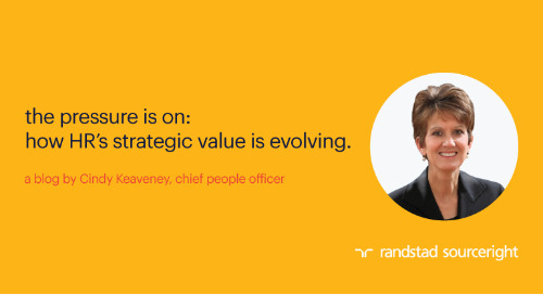 the pressure is on: how HR's strategic value is evolving.