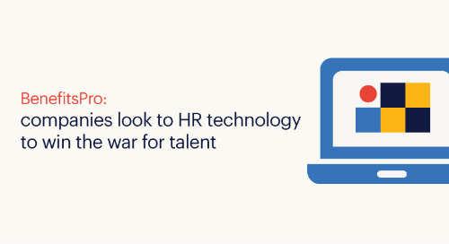 BenefitsPro: companies look to HR technology to win the war for talent.