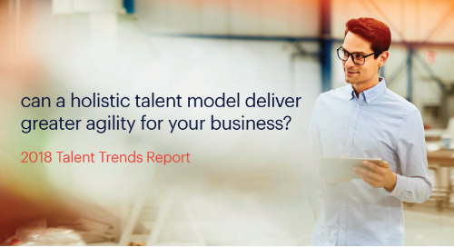 can a holistic talent model deliver greater agility for your business?