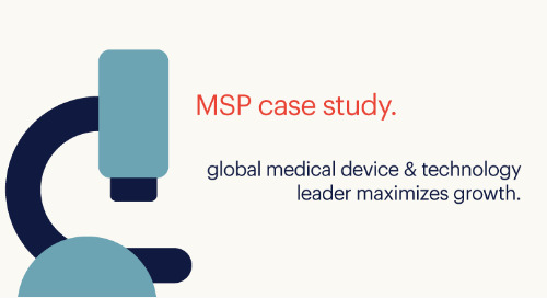 integrated MSP case study: global medical device & technology leader maximizes growth