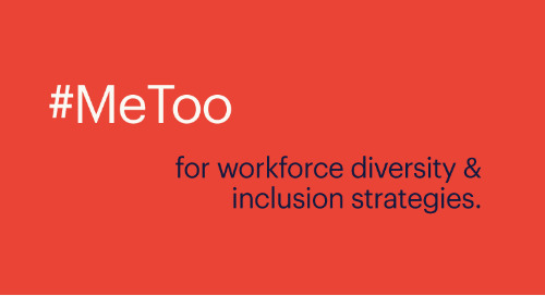 what the #MeToo movement means for workforce diversity & inclusion strategies.