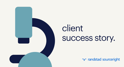 case study: life sciences giant creates a business advantage with a global talent strategy.