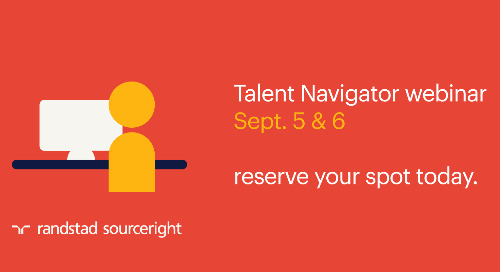 Randstad Sourceright to host Talent Navigator webinar on HR tech.