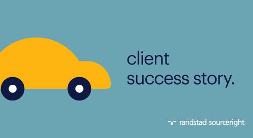 RPO case study: global automotive leader gains competitive advantage.