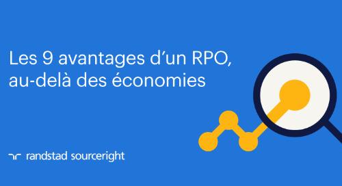 Les 9 avantages d'un RPO, au-delà des économies