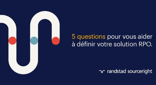 5 questions pour vous aider à définir votre solution RPO