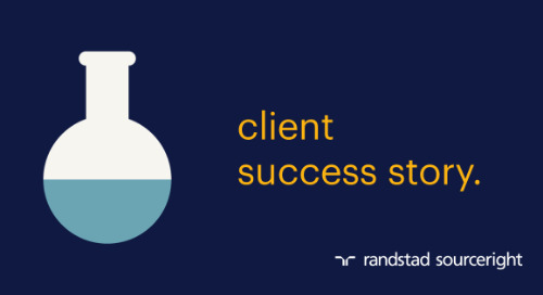 RPO case study: sourcing talent with special skill sets to launch a shared services center.