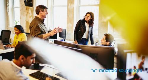 Estudo de caso de RPO: aquisição de talentos com habilidades específicas para lançar um centro de serviços compartilhados.