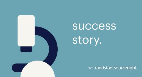 case study: global talent strategy delivers a business advantage.