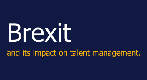 Brexit and its impact on talent management.