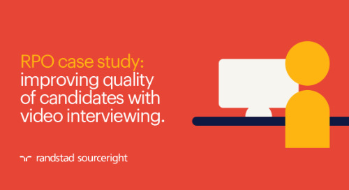 RPO case study: improving quality of candidates with video interviewing.