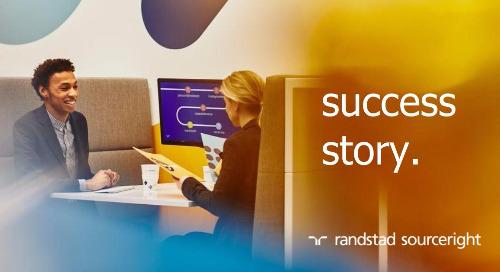 RPO case study: HR tech-driven recruitment strategy powers transformation.