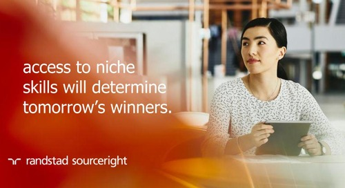 Staffing Stream: access to niche skills will determine tomorrow's winners.