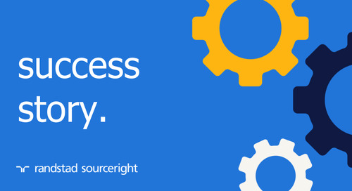 RPO case study: manufacturing company achieves scalability, enables HR to focus on key priorities.