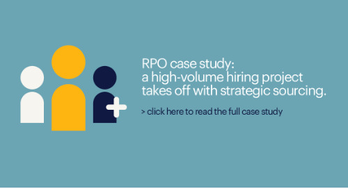 RPO case study: a high-volume hiring project takes off with strategic sourcing.