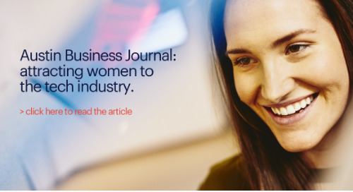 Austin Business Journal: attracting women to the tech industry.