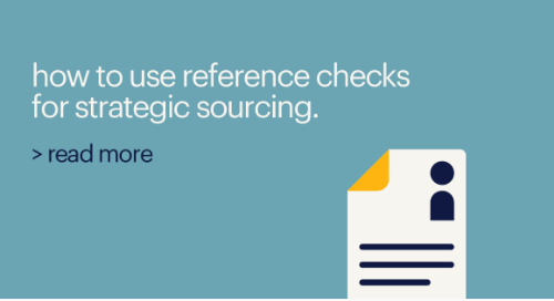 reference checks: an untapped source of qualified passive candidates.