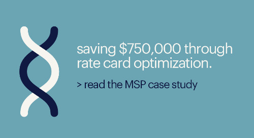 MSP case study: global life sciences leader raises user satisfaction by 37 points.