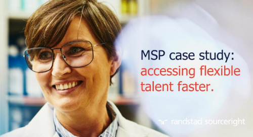MSP case study: engaging the contingent workforce with talent pools.