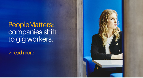 PeopleMatters: companies shift to gig workers.