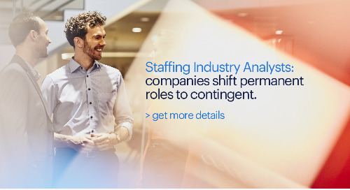 Staffing Industry Analysts: companies shift permanent roles to contingent.