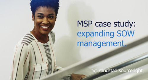 MSP case study: gain visibility and control with SOW management.
