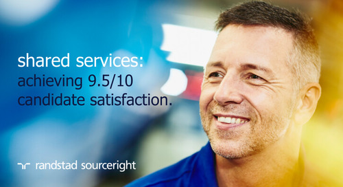 RPO case study: global shared services drive sourcing to support rapid growth.