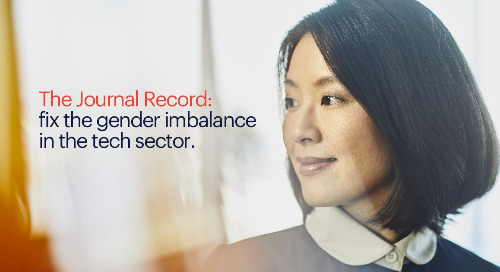 The Journal Record: fix the gender imbalance in the tech sector.