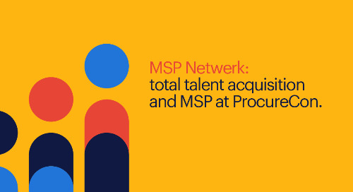 MSP Netwerk: total talent acquisition and MSP at ProcureCon.