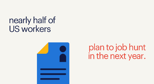 HR Dive: nearly half of US workers plan to job hunt in the next year.