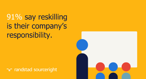 Randstad Sourceright finds reskilling and talent fluidity are critical to business success.