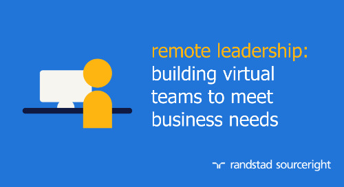 Randstad Sourceright hosts webinar on remote leadership best practices.