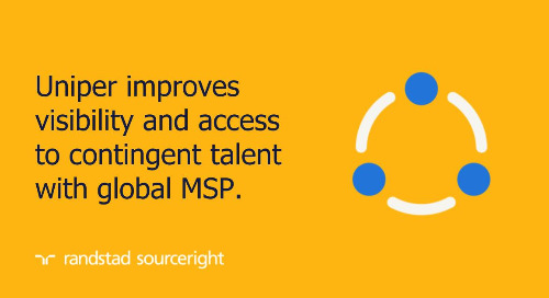 MSP case study: Uniper engages freelancers to improve talent quality.