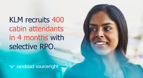 RPO case study: KLM meets high-volume hiring needs quickly.