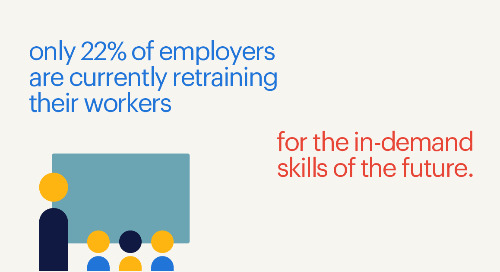 Human Resource Executive: upskilling is needed, but employers lag.