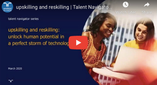 upskilling and reskilling | Talent Navigator webinar.