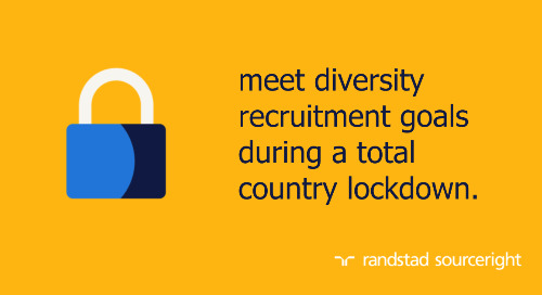 RPO case study: drive gender diversity hiring while shifting to virtual recruitment.