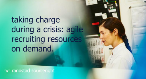 taking charge during a crisis: agile recruiting resources on demand.