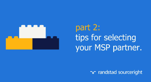 Staffing Stream: selecting an MSP partner.