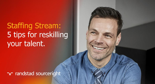 Staffing Stream: usher in a new age of human potential by reskilling talent.