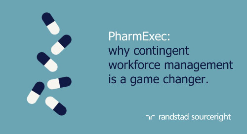 PharmExec: contingent workforce strategy critical for life sciences companies.
